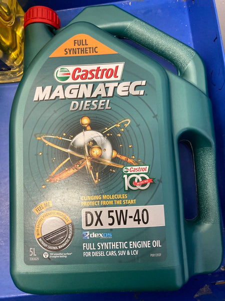 CASTROL Magnatec Fully Synthetic Diesel Engine Oil DX 5W-40 5L