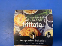 # TEMPTATION BAKERIES Frittata Mac & Cheese with Bacon 120g