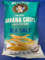 MELINDA'S Thin and Crispy Banana Chips Sea Salt Flavour 142g