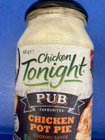 CHICKEN TONIGHT Pub Favor Chicken Pot Pie Cooking Sauce 490g