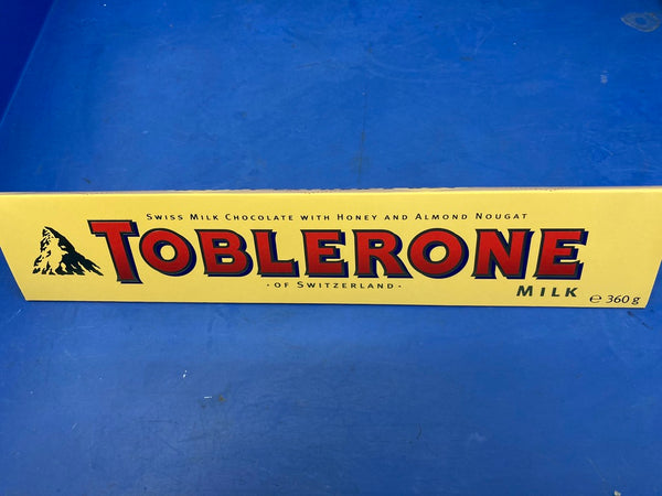 TOBLERONE Milk Chocolate 10 x 360g