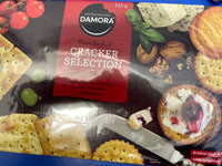 DAMORA Satisfied Snacking Cracker Selection 225g