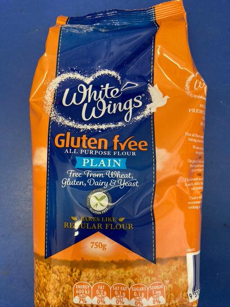 WHITE WINGS Gluten Free Plain Flour 750g