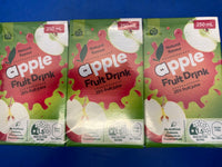 WOOLWORTHS Apple Fruit Drink Popper x 6