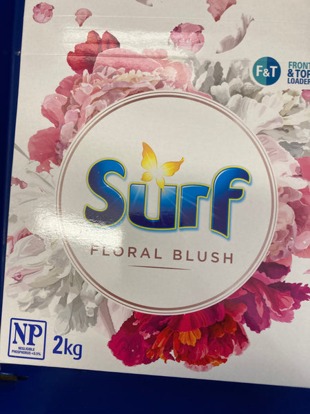 SURF Concentrated Laundry Powder Limited Edition Floral Blush 2kg