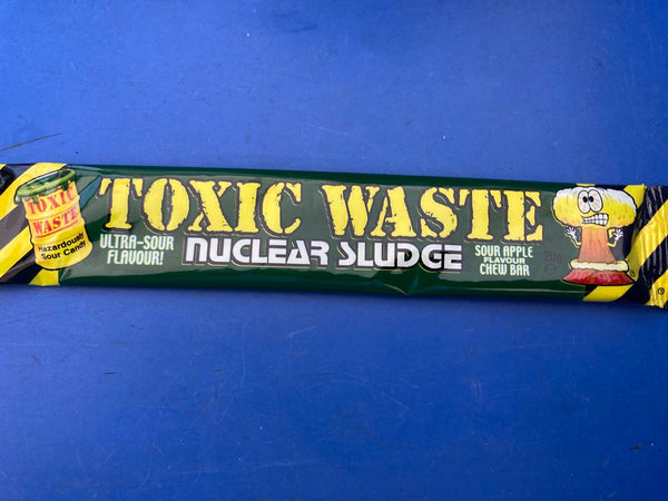 Nuclear Sludge Chew Bars Sour Apple Flavour 20g