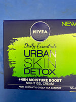 NIVEA Urban Skin Detox Night Gel Cream 50ml
