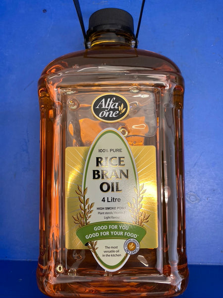 ALFA ONE Rice Bran Oil 4L