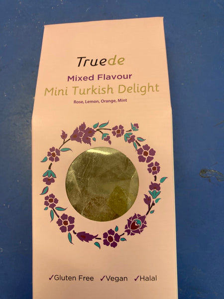 TRUEDE Mini Mixed Flavour Turkish Delight 150g
