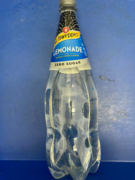 SCHWEPPES Lemonade Zero Sugar Soft Drink 1.25L