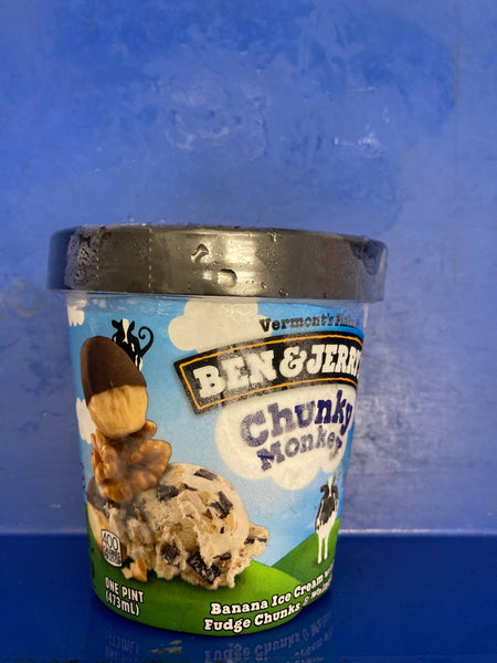 # BEN & JERRY'S Chunky Monkey Ice Cream 473ml