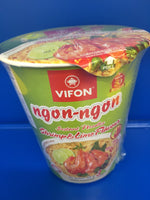 Instant rice noodles Shrimp & Lime Flavour and VIFRON PHO 60g