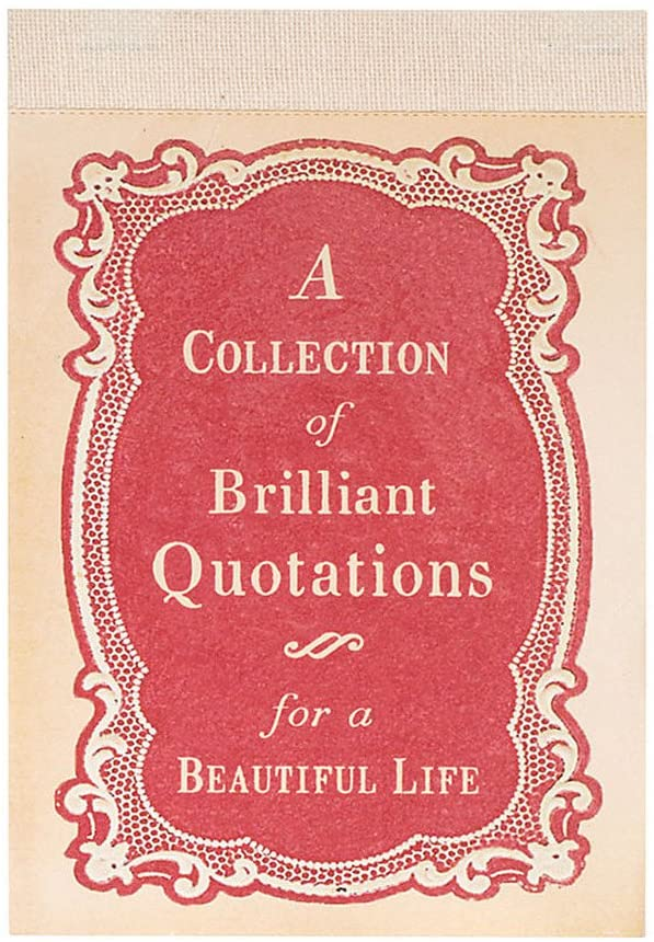 A Collection of Brilliant Quotes book