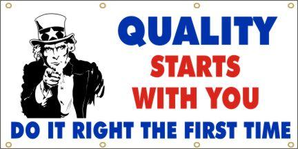 A101 Quality Starts With You