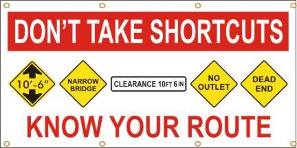 A107 Don't Take Shortcuts, Know Your Route