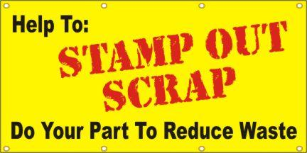 A157 Help to Stamp Out Scrap