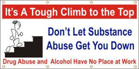 A170 It's a Tough Climb to the Top, Don't Let Substance Abuse Get you Down