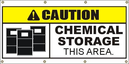 A304 Caution - Chemical Storage