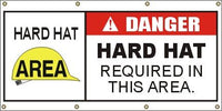 A313 Danger - Hard Hat Required
