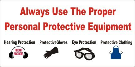 A38 Always Use the Proper Personal Protective Equipment