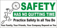 A55 Safety Has No Quitting Time