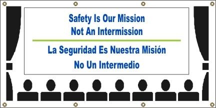 A565 Safety Is Our Mission, Not an Intermission (Spanish)