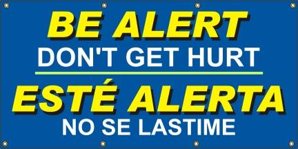 A512  Be Alert - Don't Get Hurt (Spanish)