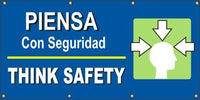 A524  Think Safety (Head) - Spanish