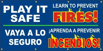 A548 Play It Safe - Prevent Fires (Spanish)