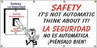 A502 Safety, It's Not Automatic - Spanish