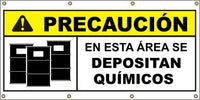 A576 Caution - Safe Floor Loads (Spanish)
