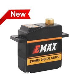 EMX-SV-0287 ES09MD II (dual-bearing) specific swash servo for 450 helicopters