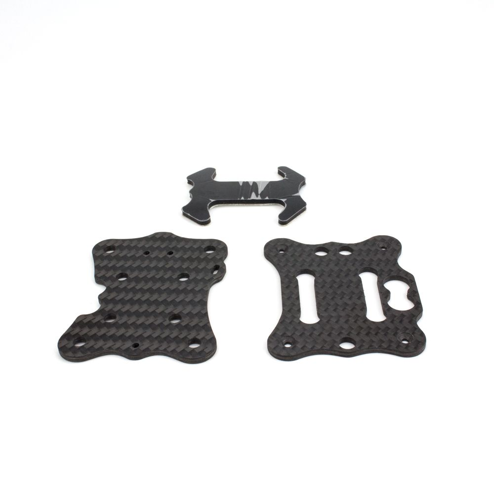 Babyhawk R  4 inch Part B: Middle + Bottom Plate + Battery Pad