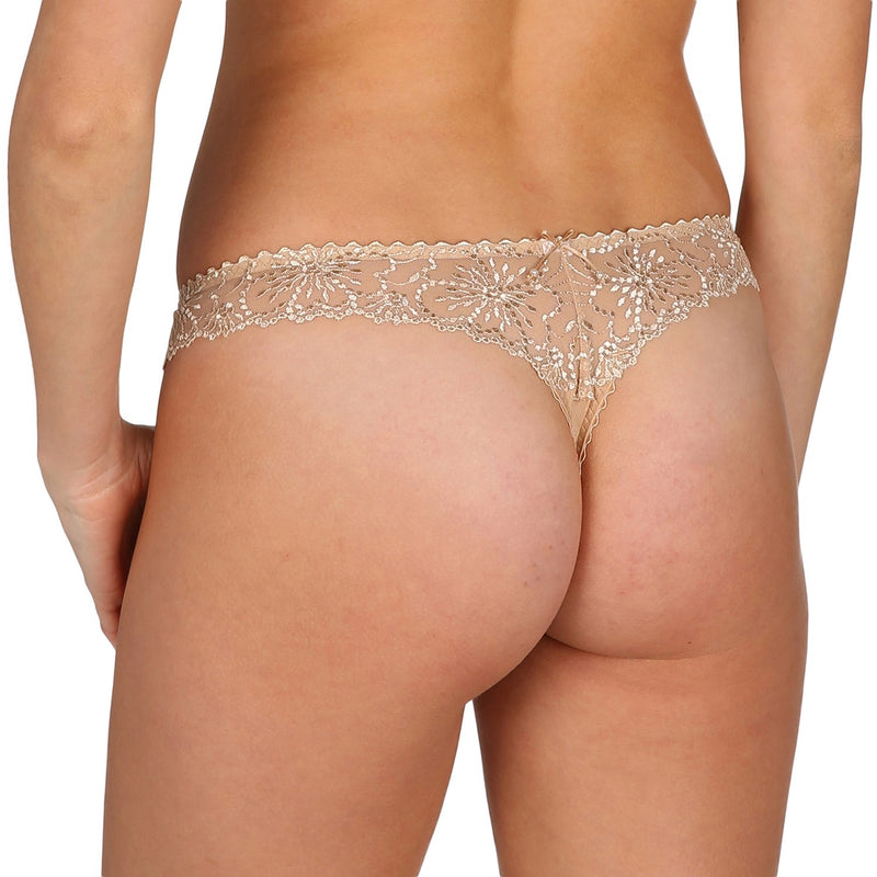 Jane Lace Thong - Dune