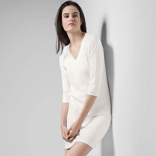 Pure Essence Nightie - Off White