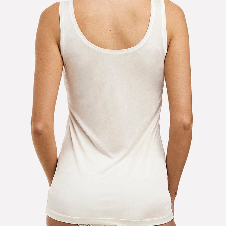 Silk Jersey Tank - Various Colours