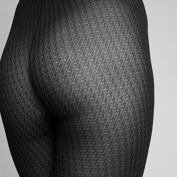 Agnes Houndstooth Tights