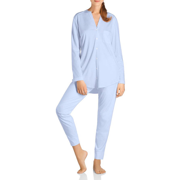 Pure Essence Long Sleeve Pyjama - Blue Glow