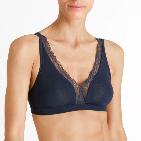 Cotton Lace Soft Cup Bra