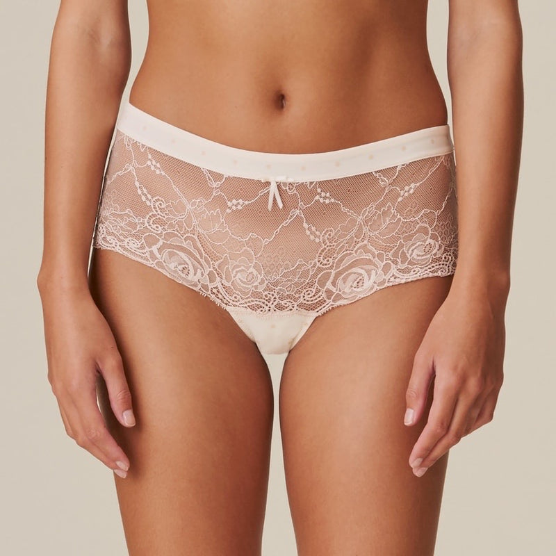 Axelle Hotpants - Pearled Ivory