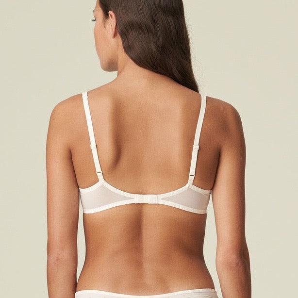 Axelle Push Up Bra - Pearled Ivory