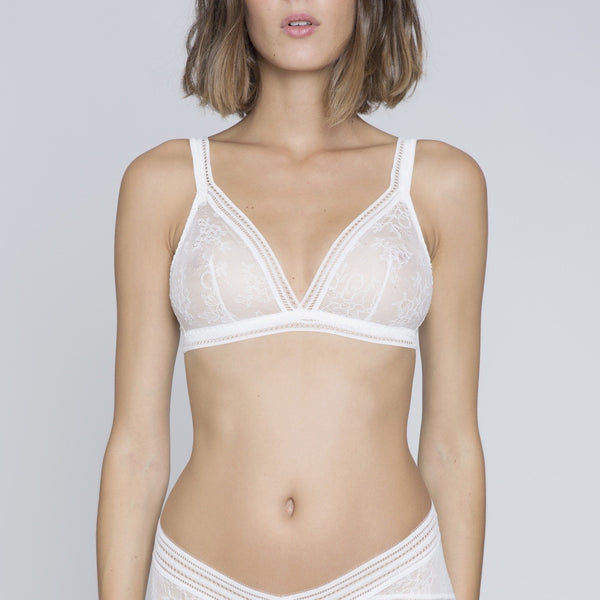 Miss Lejaby Triangle Bra - Ivory