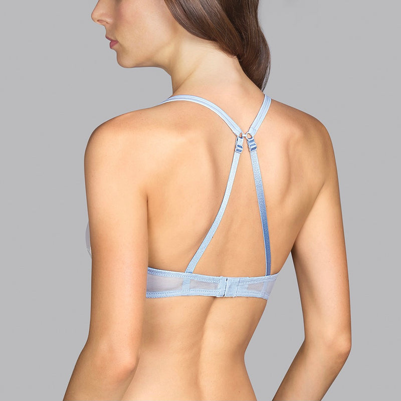 Eden Rock Underwire Bra - Pale Blue