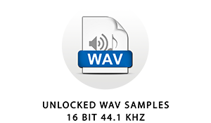 The samples in this library are standard 16 bit 44.1 kHz wave files. They can be used in any audio software or hardware that supports common wav files.