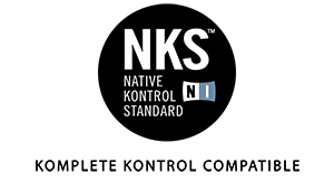 This library is encoded in the NKS format to provided compatibility with all Komplete Kontrol software and hardware by Native Instruments
