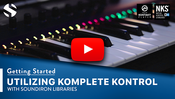 Utilizing Komplete Kontrol with Soundiron libraries