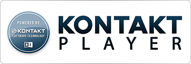 This is a Powered By Kontakt Player library. It can be used in the free Kontakt Player or the full version of Kontakt. It can be added to the Libraries browser. It requires online serial number activation through Native Instruments
