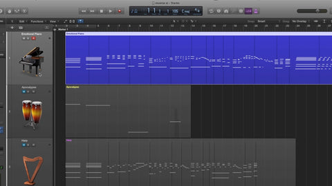Tips & Tricks - Bouncing Midi To Audio and Reversing It