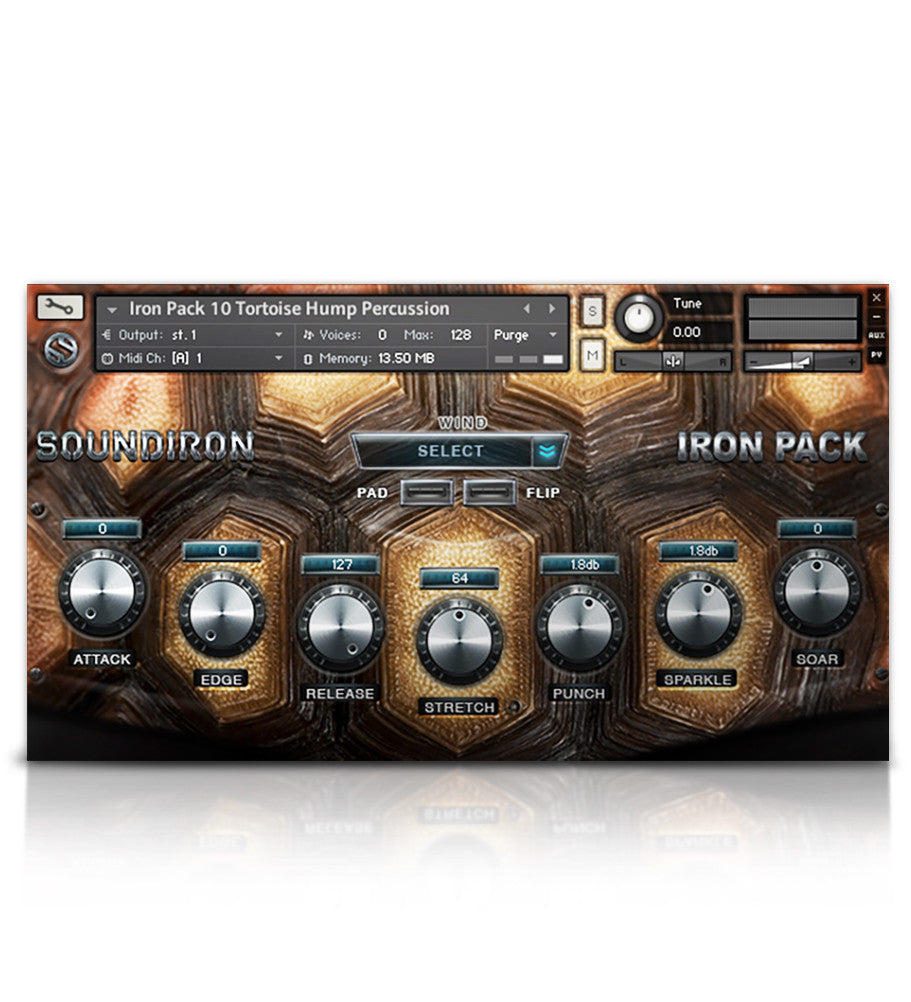 Iron Pack 10 - Tortue Amour - Micropaks - virtual instrument sample library by Soundiron