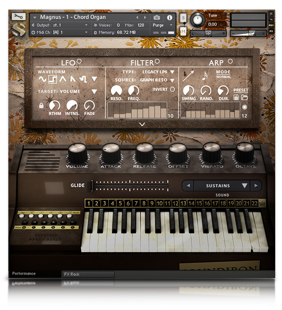 Magnus - Pianos and Organs - virtual instrument sample library for Kontakt by Soundiron